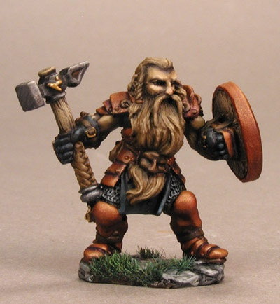 Reaper Dark Heaven Legends 02607 Bjorn, Dwarven Warrior