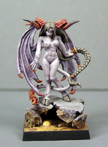 Reaper Dark Heaven Legends 03084 Virina, Female Demon