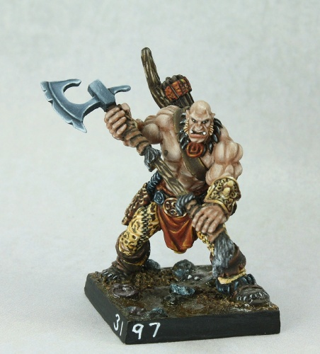 Reaper Dark Heaven Legends 03197 Thelgar, 1/2 Orc Barbarian