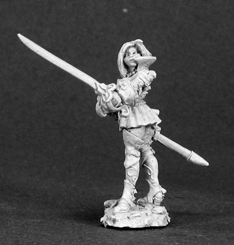 Reaper Dark Heaven Legends 03311 Rhaine, Female Duelist