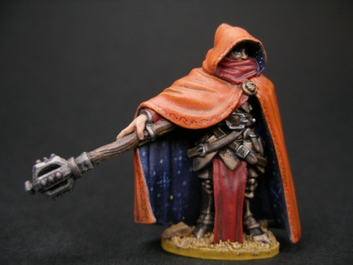 Reaper Dark Heaven Legends 03469 Hanseth Dimguard, Cleric