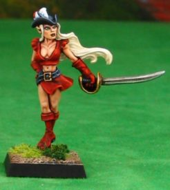 Reaper Dark Heaven Legends 03482 Lauren Silversail, Elf Pirate