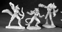 Reaper Dark Heaven Legends 03495 Classics: Female Lycanthropes