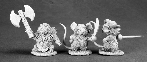 Reaper Dark Heaven Legends 03522 Mousling Pirate Savage Duelist