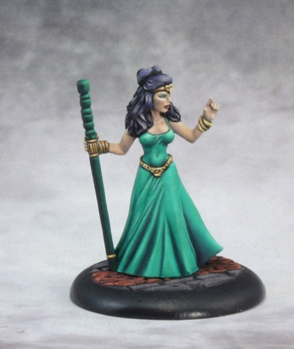 Reaper Dark Heaven Legends 03563 Tinley, Female Wizard