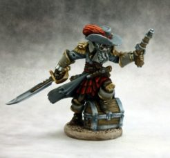 Reaper Dark Heaven Legends 03615 Captain Razig, Undead Pirate