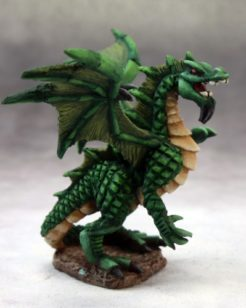 Reaper Dark Heaven Legends 03649 Forest Dragon Hatchling