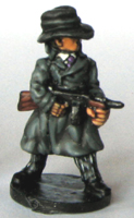 Dunwich Detectives Gangster with Tommey-gun