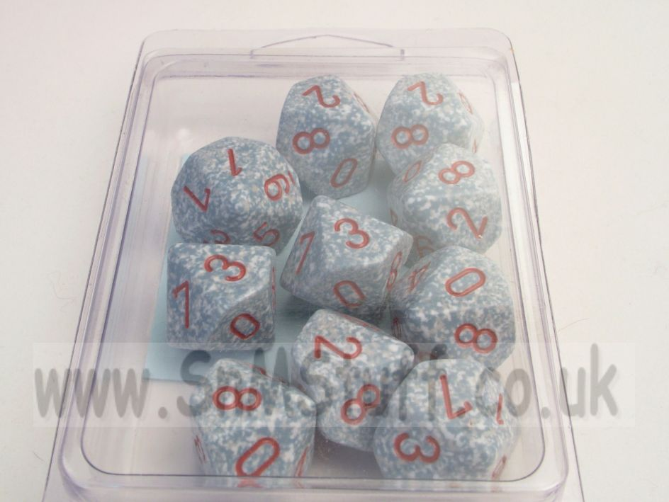 Chessex Speckled Air 10 x D10 Set