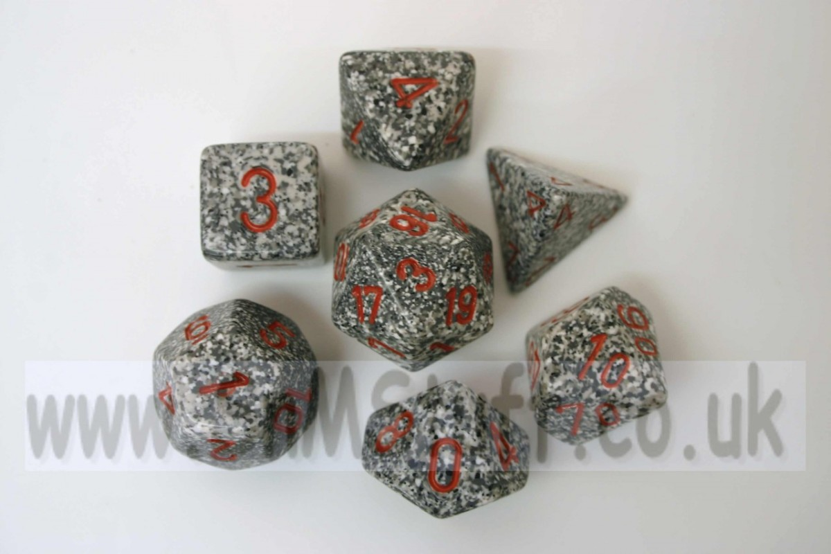 Chessex Speckled Polydice Granite