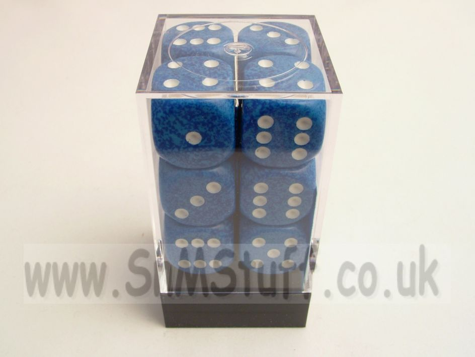 Chessex Speckled Water 16mm D6 x 12