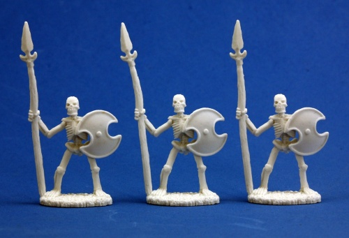 Reaper Bones Skeletal Spearmen (3)