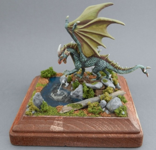 Reaper Bones Young Fire Dragon