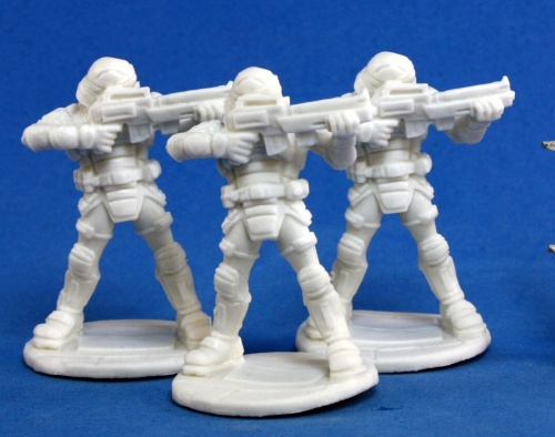 Reaper Bones Chronoscope Nova Corp:Guard (3)