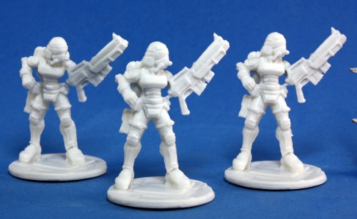Reaper Bones Chronoscope Nova Corp:Female (3)