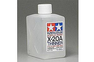 Tamiya - Acrylic Thinners 250ml X20-A