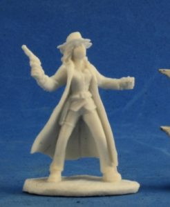 Reaper Bones Savage Worlds 91004 Texas Ranger Female