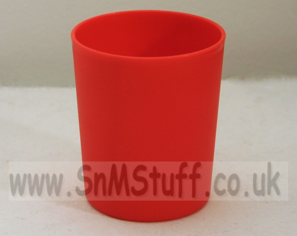 Large Round Dice Shaker - Red