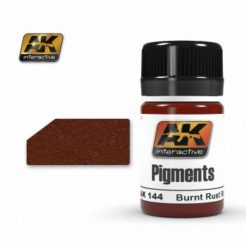 AK Interactive Pigments - Burnt Rust Red