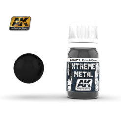 AK Interactive - Xtreme Metal Paints - Blackbase
