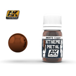 AK Interactive - Xtreme Metal Paints - Copper