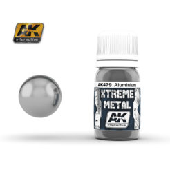 AK Interactive - Xtreme Metal Paints - Aluminium