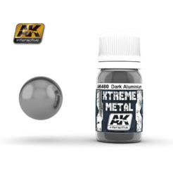 AK Interactive - Xtreme Metal Paints - Dark Aluminium