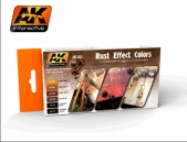 AK Interactive Rust Effect Colours
