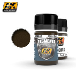 AK Interactive Pigments - Dark Rust
