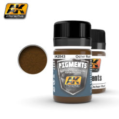 AK Interactive Pigments - Ocher Rust
