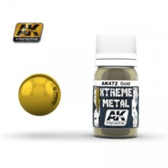 AK Interactive - Xtreme Metal Paints - Gold