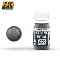 AK Interactive - Xtreme Metal Paints - Steel