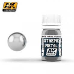 AK Interactive - Xtreme Metal Paints - White Aluminium
