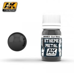 AK Interactive - Xtreme Metal Paints - Gun Metal