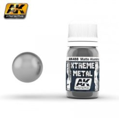 AK Interactive - Xtreme Metal Paints - Matte Aluminium