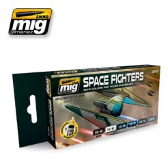 Mig Ammo Space Fighters Sci-Fi Colours Set