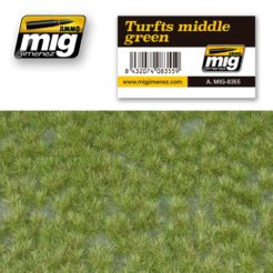 Mig Ammo Grass Mat Middle Green Turf