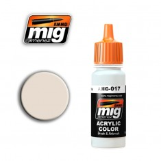Mig Ammo Acrylic Paint (17ml) - RAL 9001 Cremeweiss