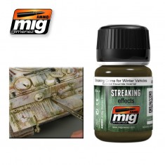 Mig Ammo Streaking Effects (35ml) Streaking Grime For Winter Vehicles