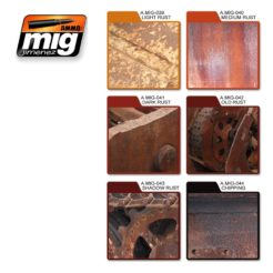 Mig Ammo Rust Effects Colors