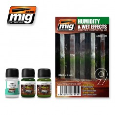 Mig Ammo Weathering Set - Humidity And Wet Effects