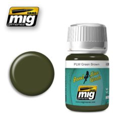 Mig Ammo Panel Line Wash (35ml) - Green Brown