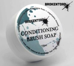 BrokenToad Brush Soap
