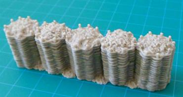 28mm Scale Gabions 5 Strips