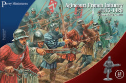 Perry Miniatures Agincourt French Infantry