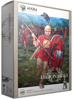 Agema Miniatures Republican Roman Legionaries
