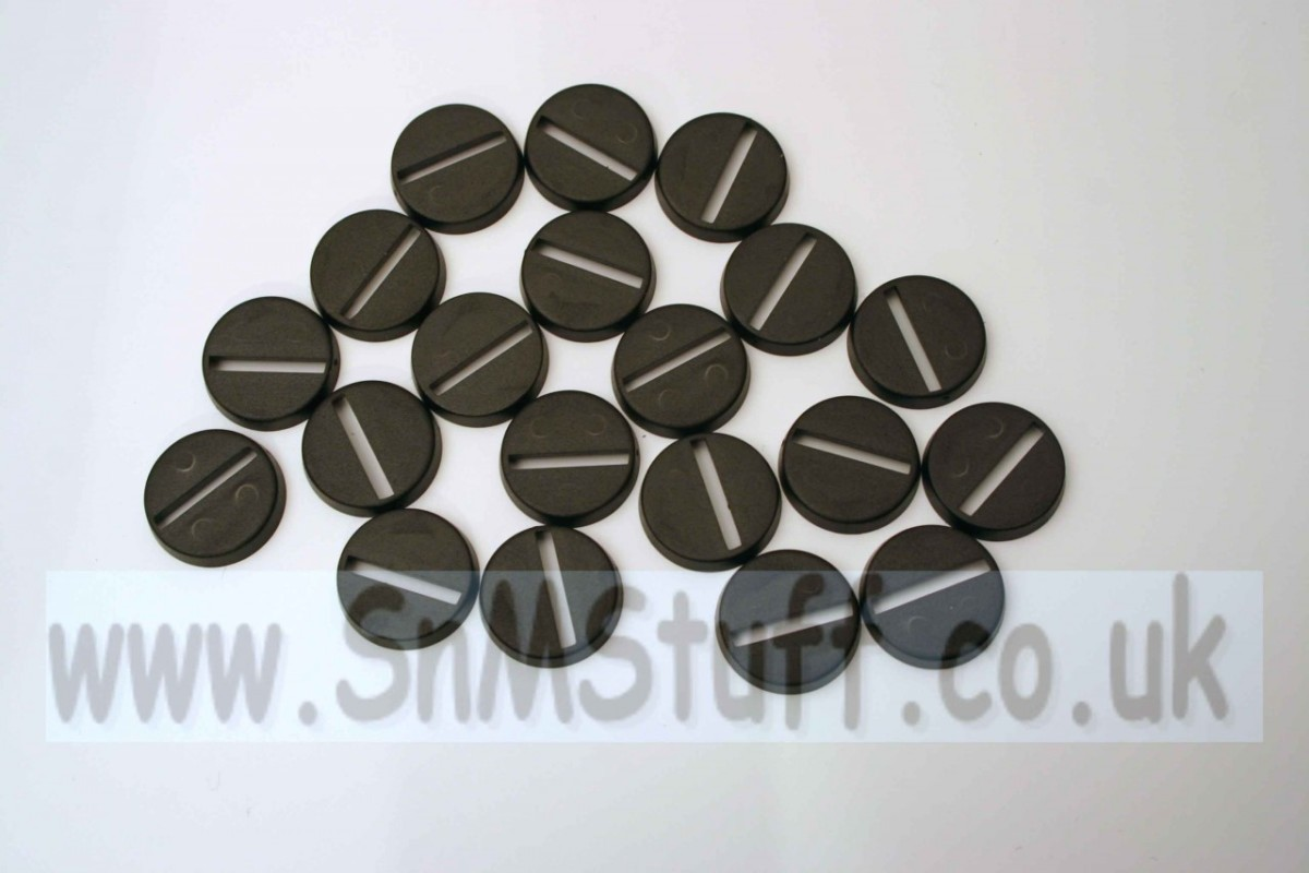Bases: Round 20mm - bag of 20