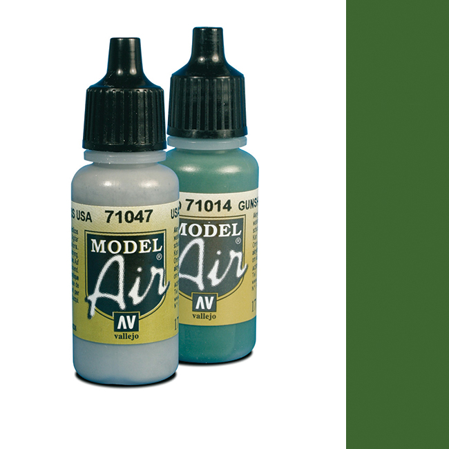 Vallejo Model Air 6 Camouflage Light Green