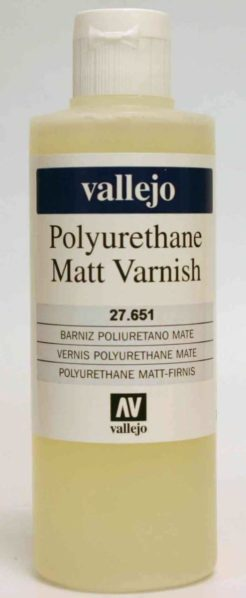 Vallejo Polyurethane Varnish - Matt 200ml