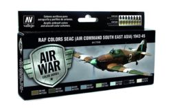 Model Air Set - RAF & FAA SEAC (Air Command South East Asia) 1942-45